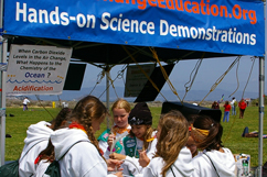 hands-on science demonstrations and activities